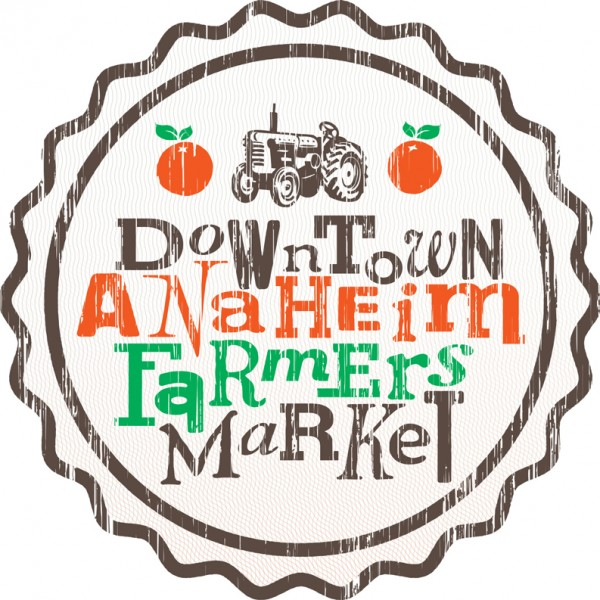 Logo created for the Downtown Anaheim Farmers Market.