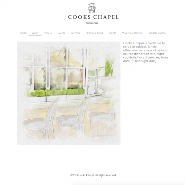 Cooks Chapel Website Design. Designed using Adobe Muse = code free website design software. All design elements besides the amazing logo were done by KVN using Adobe Muse.